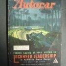 Sep 19 1947 Autocar Magazine Auto Race Car Shows