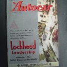 Nov 29 1946 Autocar Magazine Auto Race Car Shows