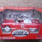 TEXACO PEDAL CAR 1956 FORD THUNDERBIRD RED #11 MIB
