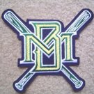 "Milwaukee Brewers Baseball Large Cloth 7"" Patch"