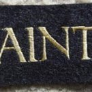 """New Orleans Saints Football Cloth 3 1/2"""" Patch"""