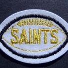 "New Orleans Saints Football Cloth 2 3/4"" Patch Yellow"