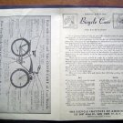 1950s Bicycle Inst of America Bicycle Care Brochure