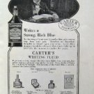 Jan 1921 Carter's Writing Fluid Harper Advertisment