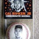 Ironman Cal Ripken Jr. Commemorative Foto Baseball COA