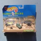 Hot Wheels Planet Micro Military Series 1 1997 MIB