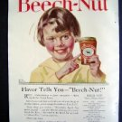Jan 1921 Beech-Nut Peanut Butter Harpers Advertisment