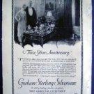 Jan 1921 Gorham Sterling Silverware Harper Advertisment