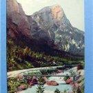 Kummerbrucke u. Planspitze early Germany  Post Card