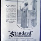 Jan 1921 Standard Plumb Fixtures Harpers Advertisment