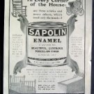 Jan 1921 Sapolin Enamel Paint Harpers Advertisment