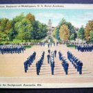 US Navel Academy Noon Formation Midshipmen Annapolis Md