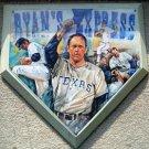 Nolan Ryan Express Texas Rangers Base Wall Plaque RARE