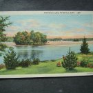 Pontoosuc Lake Pittsfield  Mass  Post Card