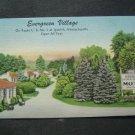 Evergreen Village Douglas Motel  Route 1  Ipswich Mass