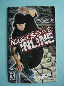 Video Booklet Manual ONLY for Xbox Aggressive Inline