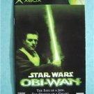 Booklet Manual ONLY Xbox Star Wars Obi-Wan Fate Jedi
