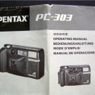 PENTAX PC-303 CAMERA OPERATING MANUAL 1988