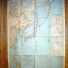 National Geographic Map 1944~JAPAN & Asia Pacific Ocean