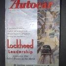 Dec 27 1946 Autocar Magazine Racing Race Car Shows