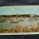 Wychmere Harbor in Harwichport on Cape Cod  Mass