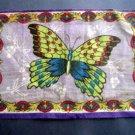 Circa 1900 Butteryfly Tobacco Felt Blanket NM