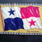 Circa 1900 Panama Tobacco National Flag Felt Blanket