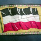 Circa 1900 Germany Tobacco National Flag Felt Blanket