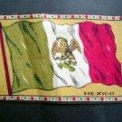 Circa 1900 Mexico Tobacco National Flag Felt Blanket