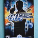 Video Book Manual ONLY Playstation 007 Agent Under Fire