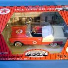 TEXACO PEDAL CAR 1955 CHEVY BEL AIR #12 RED & WHITE MIB