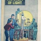 1957 General Electric Comic ~ The Story Of Light