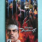 Video Booklet Manual ONLY Playstation Virtua Fighter 4