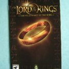 Video Booklet Manual ONLY Playstation 2 Lord of Rings