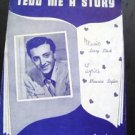 Vic Damone Tell Me a Story Sheet Music 1948