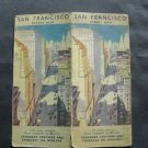 1930s STANDARD OIL & GAS Street San Francisco Calif