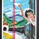 1950s Travel in Switzerland Brochure by Swiss Railway