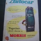 Jun 13 1958 Autocar Magazine Morris Race Car Shows