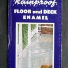 Colonial Rainproof Floor & Deck Enamel Paint Brochure