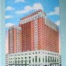 Hotel Schroeder, Milwaukee, Wis Vintage Linen Postcard