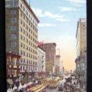 Antique Postcard Telegraph Av Broadwy Cable Car Oakland