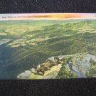 Page Valley from Stony Man Mountain Va Linen Postcard