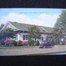 Post Office Fort Benning Georgia Linen Postcard