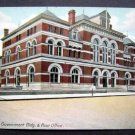 Government Building & Post Office Utica  N Y Postcard