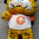 Garfield the Cat Plush in Football Helmet and G Jersey