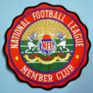 "NFL National Football League Member Club 7"" Patch"