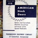 1956 American Stock Gears ASG Catalog No 360