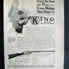 1914 King Air Rifles St Nicholas Advertisement