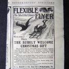 Circa 1910 Flexible Flyer Sled Good Housekeeping Adv