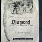 1916 Diamond Bicycle Tires St Nicholas Advertisement